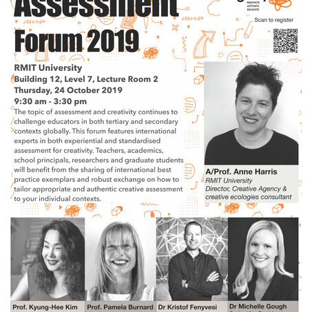Creativity & Assessment Forum 2019