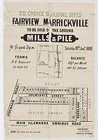 1880 25 choice building sites, Fairview,