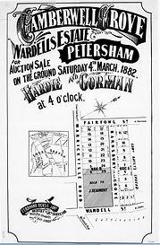 1882 Camberwell Grove  Wardells Estate P