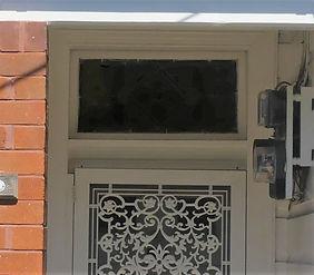 No 1 Fairfowl Street Front Door Fanlight