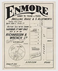 1902 Enmore, Addison Road, Perry Street,