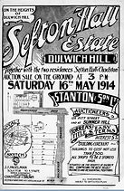 1914 Sefton Hall Estate Dulwich Hill Mac