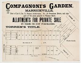 1880 (c.) Compagnoni's Garden, Marrickvi