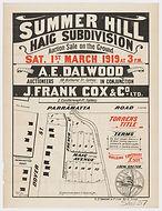 1919 Haig Subdivision Dover Street, Fren