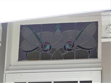 No 6 Bright Street Front Door Fanlight.j