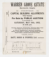 1902  Warren Grove Estate, Marrickville