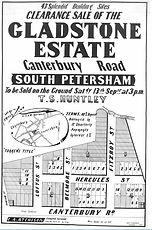1884 Gladstone Estate Canterbury Road, L