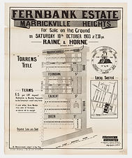 1903 Fernbank Estate, Marrickville Heigh