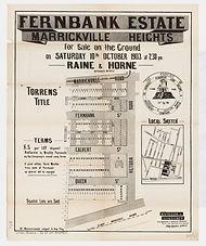1903 Fernbank Estate, Marrickville Heigh