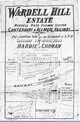 1895 Wardell Hill Estate Keith Street, M