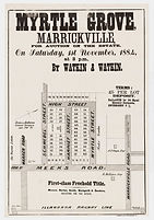 1884 Myrtle Grove  Marrickville - Schweb