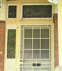 No 1 Rosemount Avenue Front Door  Sideli