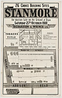 1900 Choice Building Sites, Stanmore - B