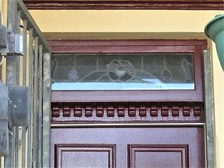 No 8 Shepherd Street Front Door Fanlight
