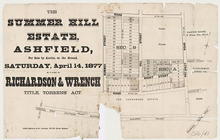 1877 The Summer Hill Estate - Ashfield -