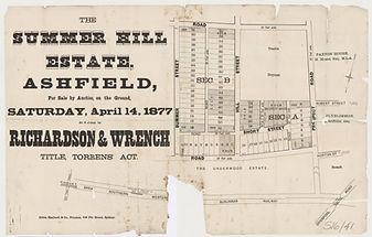 1877 The Summer Hill Estate - Ashfield -