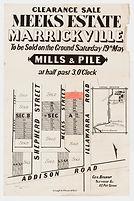 1883 Meeks Estate, Marrickville - Shephe