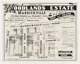 1891 Woodlands Estate, Marrickville - Ca
