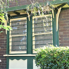 No 14 Hill Street Two Panel Double Hung