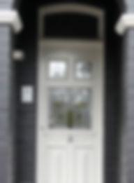 No 18 Charlecot Street Front Door Panels