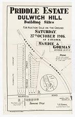 1906 Priddle Estate, Dulwich Hill - Prid
