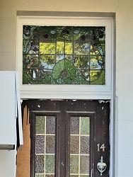 No 14 Grosvenor Crescent Front Door Fanl