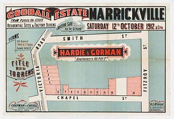 1912 Goodall Estate, Marrickville - Vict