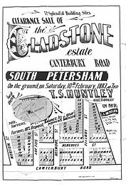 1883 Gladstone Estate Canterbury Road, L