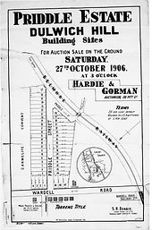 1906 Priddle Estate Priddle Street (Chal