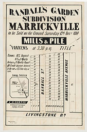 1884 Randall's Garden subdivision, Marri