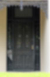 No 2 Rosedale Street Front Door Panels a