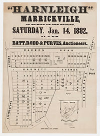 1882  Harnleigh, Marrickville - Livingst