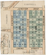 1887 Partial plan of Summer Hill - Somer