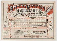 1886 Fitzroy Estate, Marrickville - Meek