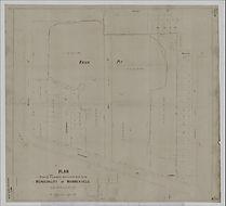 Plan showing excavation Marrickville Bri
