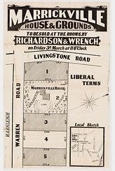 1876  Marrickville house & grounds - War