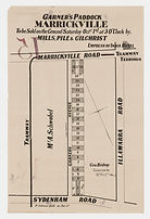 1887 Garner's Paddock Marrickville - Gar