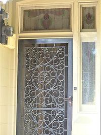 No 35 England Avenue Frond Door Sideligh
