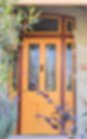 No 9 Edward Street Front Door Panels, Si