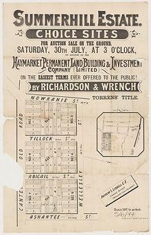 1881 Summerhill Estate - Choice Sites -