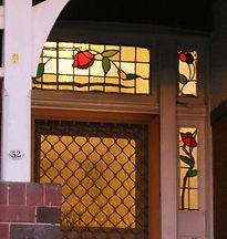52 Milton Street Front Door Sidelight &