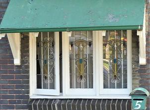 No 5 Randall Street Three Panel Casement