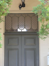 Stead House Fanlight above the Front Doo