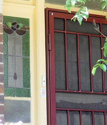 No 3 Consett Street Front Door Panel and