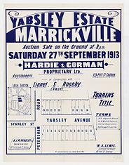 1913 Yabsley Estate, Marrickville - Pete