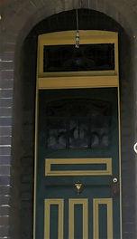 No 4 Frazer Street Front Door Panel, and