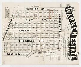 1894 (c) Warren Estate, second subdivisi