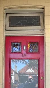 No 19 Frampton Avenue Top Front Door Pan