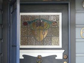 No 6 Excelsior Street Front Door Panel.J