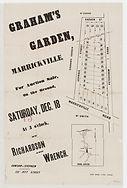 1886 Graham's Garden, Marrickville - Gar